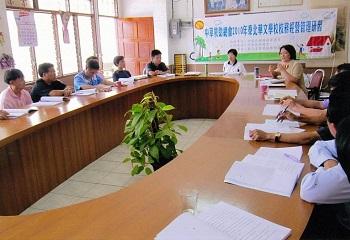本會教育專案志工巡迴訪問泰北華校